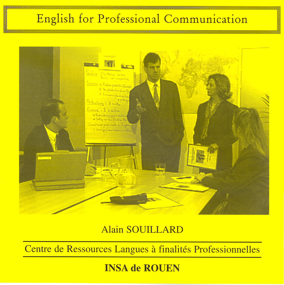 Cover CD English for Professional Communication