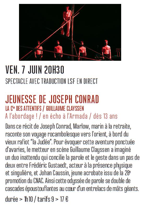 Annonce cirque théâtre