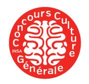 Logo Concours Culture Générale Inter INSA